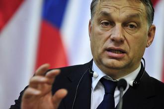 Премьер-министр Венгрии Виктор Орбан потребовал автономии для венгров из Закарпатья