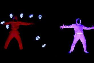 Сцена из выступления танцевальной группы из Томска ЮДИ