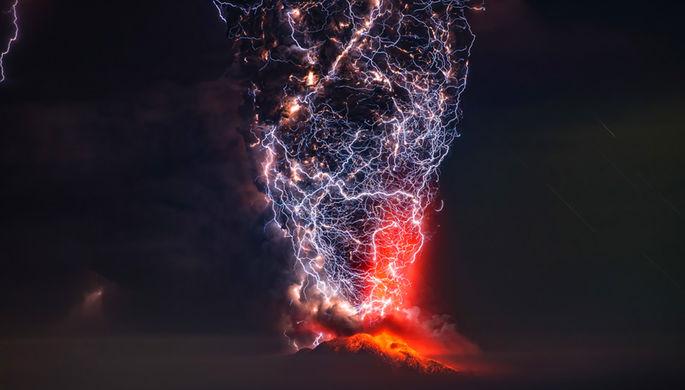 Вулкан «Кальбуко», Чили