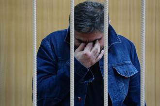 Захарий Калашов в Тверском суде Москвы, 9 августа 2016 года