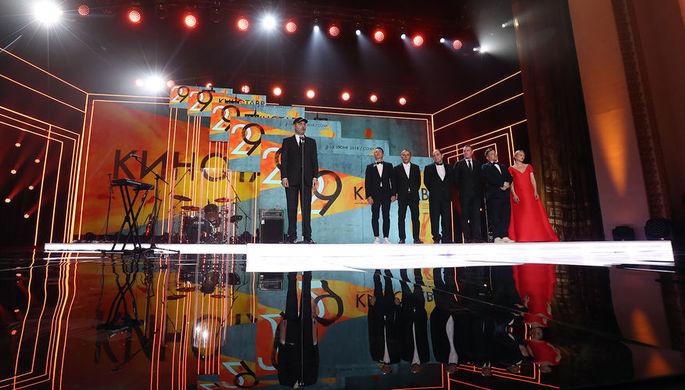 Сочи. Председатель жюри основного конкурса, режиссер Алексей Попогребский, кинокритик Стас Тыркин...