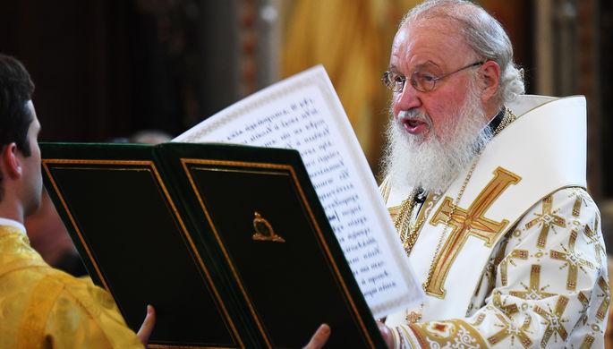 Контактировал с больным: патриарх Кирилл ушел на самоизоляцию