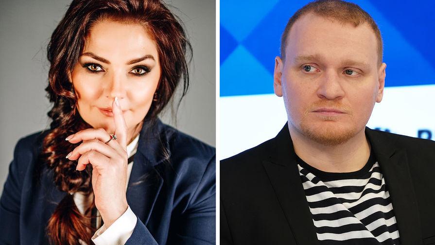 Алина Вердиш и Сергей Сафронов (коллаж)