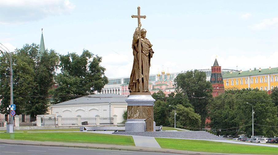 Памятник владимиру на карте москвы купить памятник в нижнем новгороде 3102