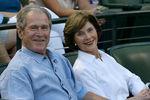 Джордж Буш ссупругой Лорой