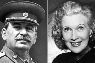 Любимица или любовница: что произошло между Сталиным и Орловой