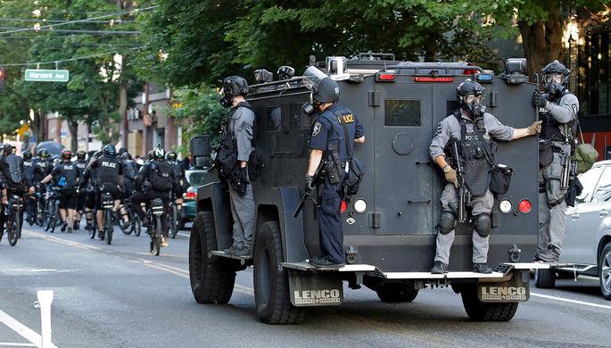 Беспорядки в Сиэтле: BLM грозит начать борьбу с терроризмом