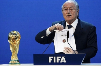 При Блаттере Россия получился чемпионат мира