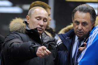 Владимир Путин и Виталий Мутко обсудили перспективы развития российского спорта