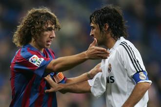 Пуйоль и другая легенда «Реала» Рауль, которого каталонец пережил на футбольных полях в Испании