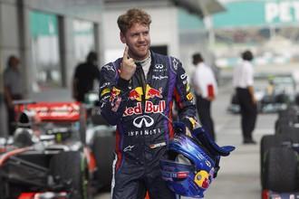 Поул-позишн на Гран-при Малайзии стал 38-м в карьере Себастьяна Феттеля