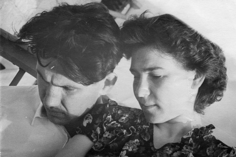 Борис Ельцин и Наина Гирина поженились через год после окончания института, 1950-е. Фотография из семейного архива