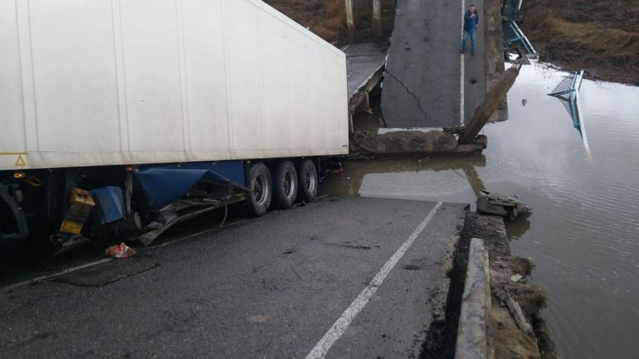 В Приморье устанавливают причины обрушения моста