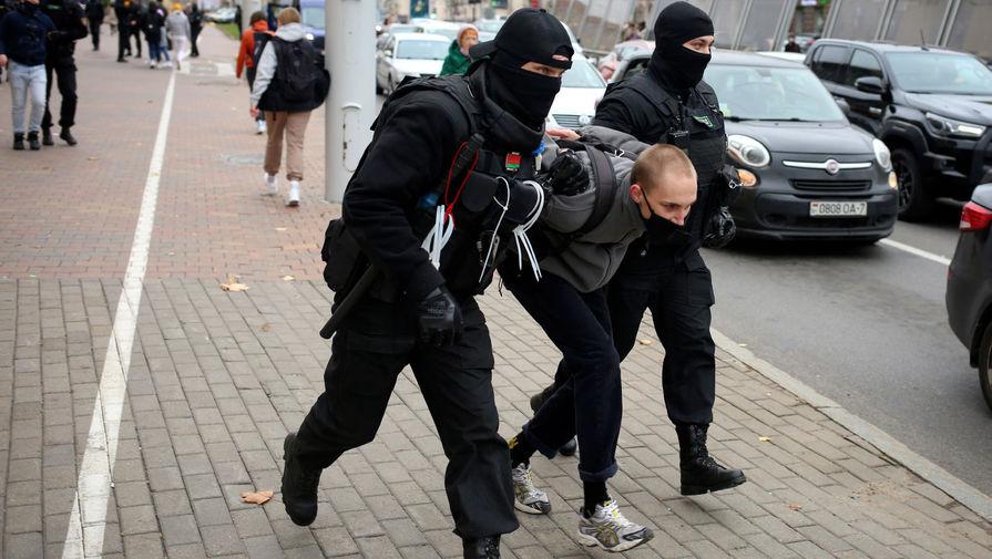 В Минске на акциях протеста полицейские задержали 40 человек