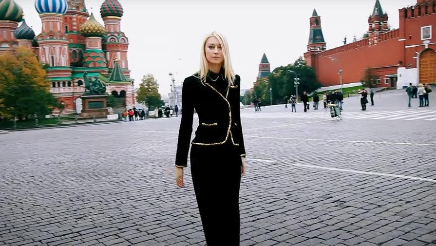 Анастасия Хозисова (кадр из видео)