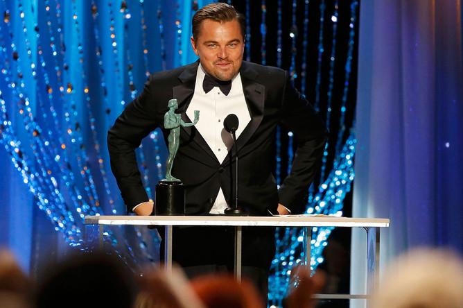 Леонардо ДиКаприо на 22-й ежегодной церемонии вручения наград Гильдии киноактеров