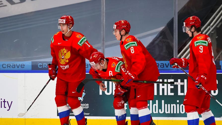 Молодежная сборная России на МЧМ по хоккею — 2021