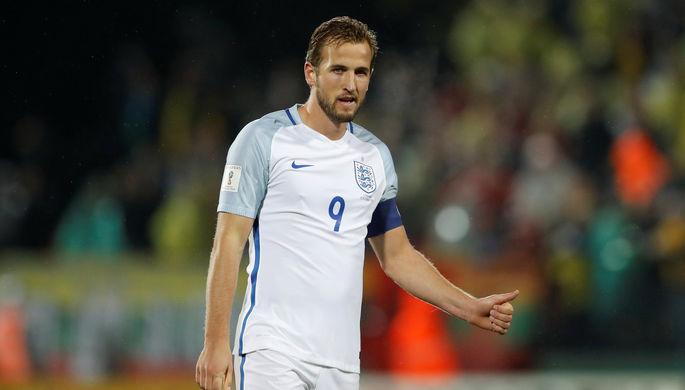Нападающий сборной Англии по футболу Гарри Кейн