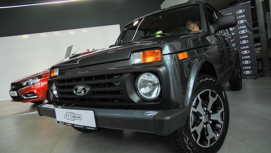 Британцы раскупают Lada Niva по цене под 2 млн рублей