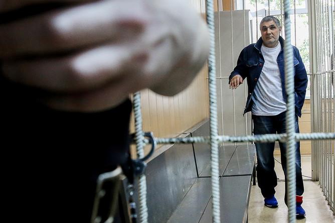 Захарий Калашов в Тверском суде Москвы, 13 июля 2016 года