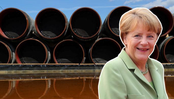 «Достроим «Северный поток — 2»: Меркель осудила санкции США