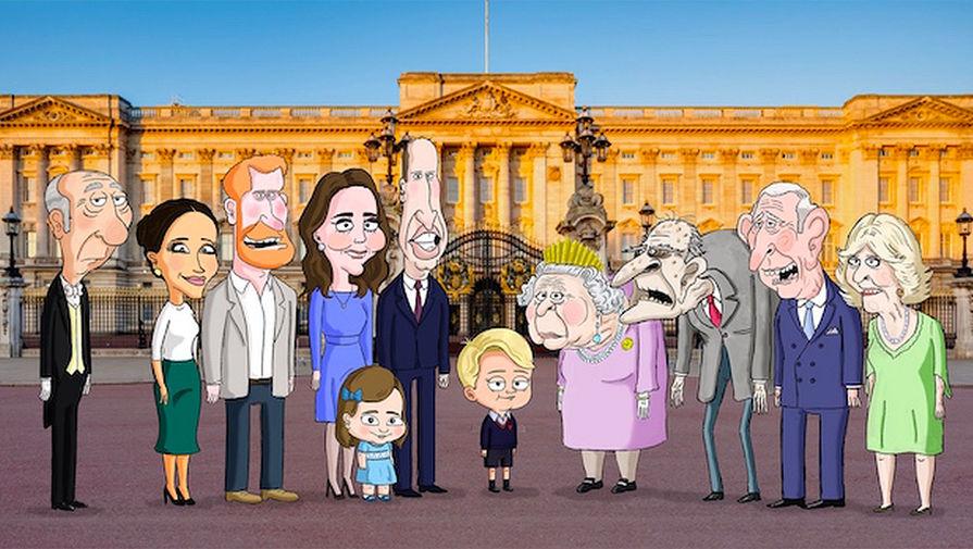 HBO анонсировал мультсериал о семье Елизаветы II