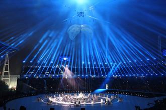 Торжественное представление на церемонии открытия XII зимних Паралимпийских игр в Пхенчхане