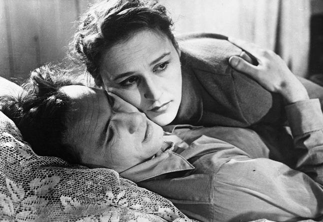 Нонна Мордюкова и Василий Шукшин в фильме «Простая история», 1960 год
