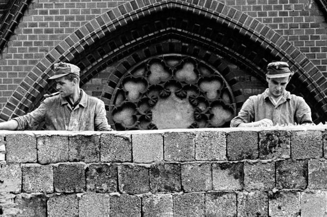 Строительство Берлинской стены, 22 августа 1961 года