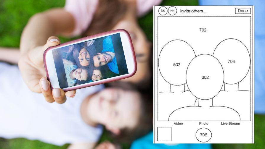 Apple запатентовала технологию для групповых селфи на расстоянии