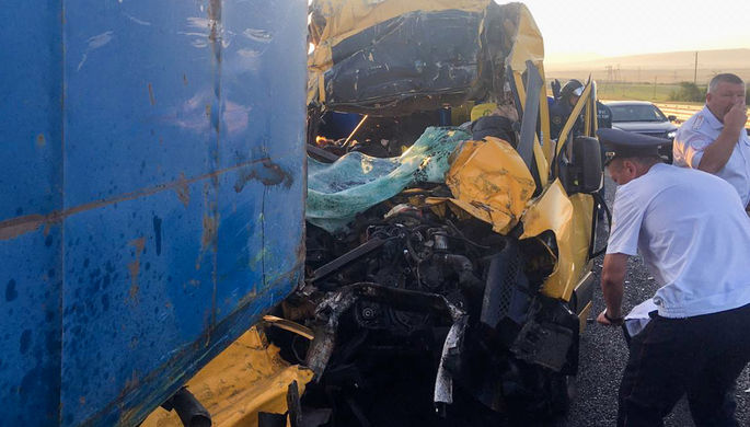 Гибель в Крыму: страшное ДТП на трассе «Таврида»