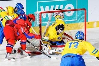 Атака сборной России в матче со шведскими сверстниками была беспомощной