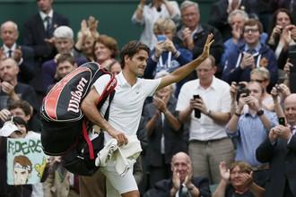 Федерер может побить рекорд Сампраса