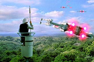 Кадр из фильма «Звёздные войны. Эпизод IV. Новая надежда»