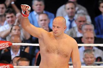 В 2012 году Федор Емельяненко мог провести бой с бывшим чемпионом UFC Броком Леснаром