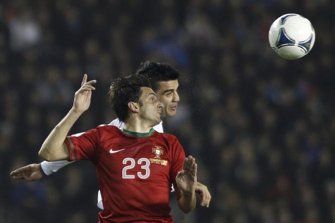 Азербайджанцы достойно смотрелись в матче с именитым соперниокм, но уступили, оставшись в меньшинстве