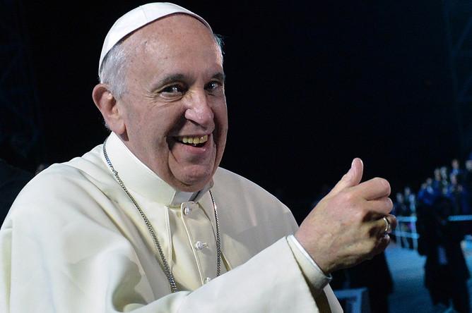 Папа Римский Франциск в Рио-де-Жанейро, Бразилия