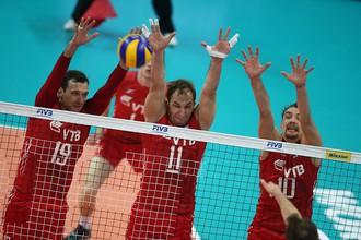 Сборная России проиграла седьмой матч в Мировой лиге