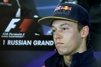 Даниил Квят на Гран-при России