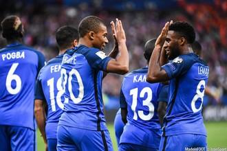 Франция встречается с Болгарией в отборе на ЧМ-2018