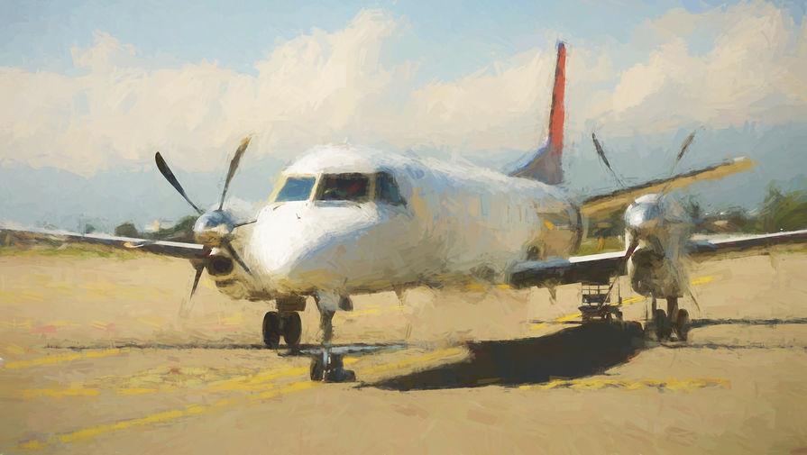 В Саратовской области упал самолет