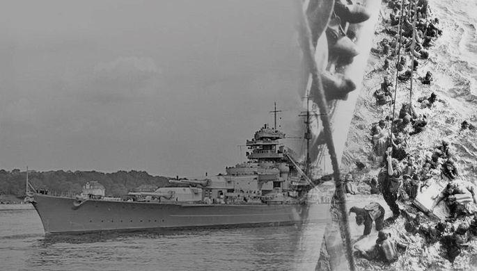 Охота на «Бисмарка»: как англичане потопили любимый корабль Гитлера