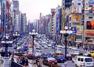 Автомобили и дороги в Японии