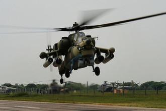 12 апреля 2016 года разбился вертолет Ми-28Н «Ночной охотник», погибли двое летчиков<br><br>В октябре 2017 года еще один Ми-28Н, по данным Минобороны, совершил вынужденную посадку из-за технической неисправности, экипаж не пострадал. До этого боевики сообщили, что вертолет был сбит