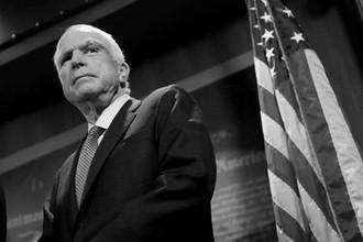 <b>Джон Маккейн (29 августа 1936 &ndash; 25 августа 2018).</b> Американский государственный деятель, политик. Сенатор США от штата Аризона (1987&mdash;2018), председатель комитета Сената США по вооруженным силам (2015&mdash;2018)