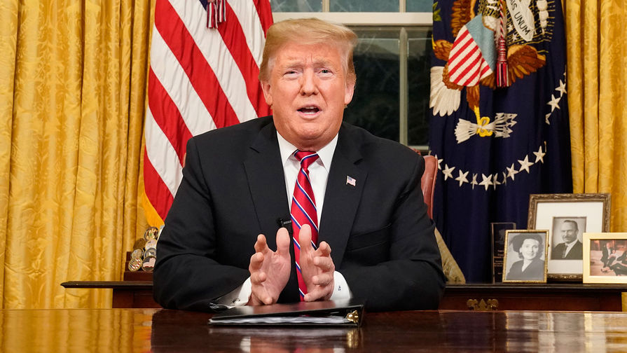 Трамп отменил поездку на ВЭФ в Давос из-за демократов