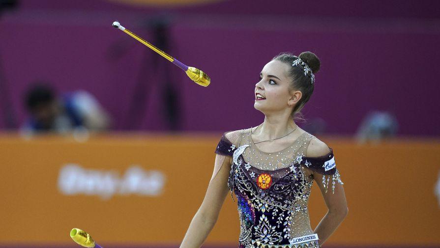 Российская гимнастка Дина Аверина
