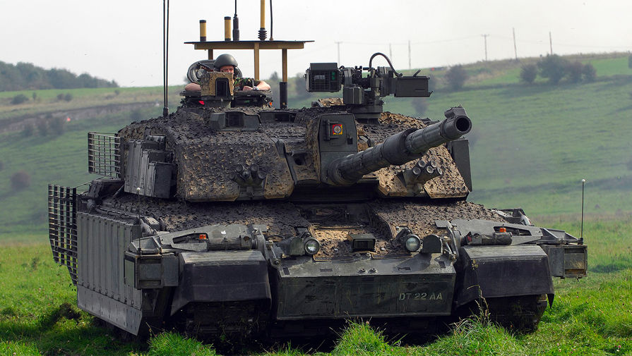 Британский танк Challenger 2