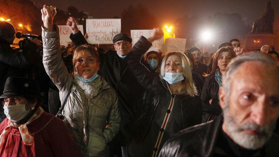 Протестующие начали перекрывать дороги в Ереване с требованием отставки Пашиняна
