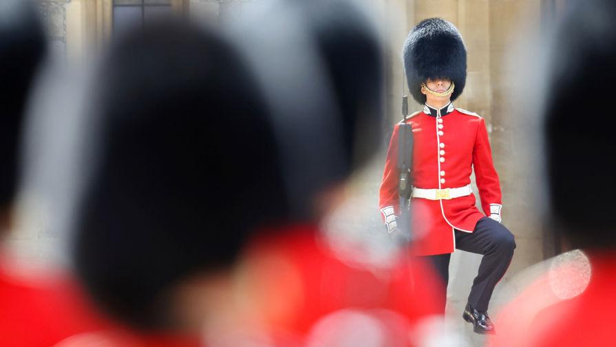 Парад в честь королевы Великобритании Елизаветы II в Виндзорском замке, 12 июня 2021 года